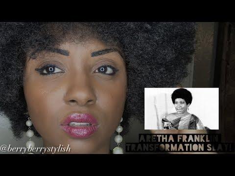 ARETHA FRANKLIN TRANSFORMATION SLAY!