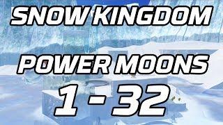 [Super Mario Odyssey] Snow Kingdom Power Moons 1 - 32 Guide (Shiveria)