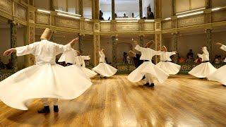 The Sufi Whirling Dervishes - Istanbul, Turkey
