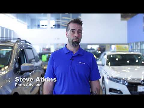 Parts Advisor Steve Atkins