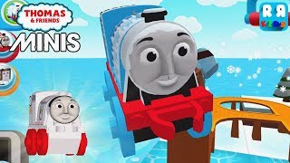 New Track The Busy Blizzard and New Engine Space Gordon - Thomas & Friends Minis