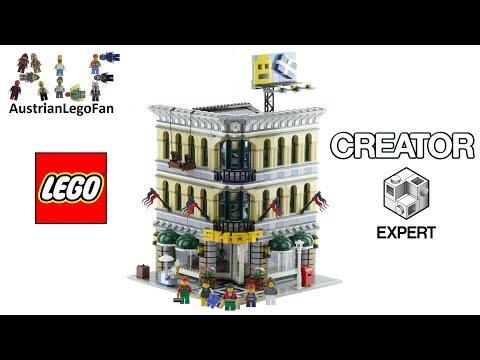 Vidéo LEGO Creator 10211 : Le grand magasin