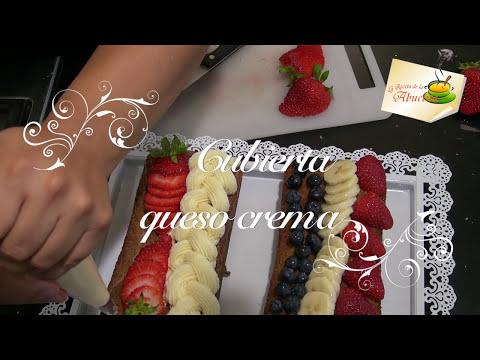 Cubierta de queso crema para pasteles o cupcakes 🎂  🍰