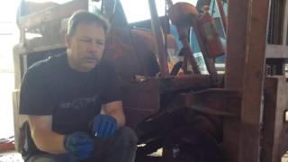 1952-1954 Clark Forklift Brake Repair