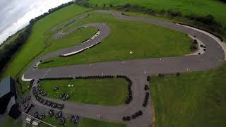 Lakeland karting Drone Lap Of The Track