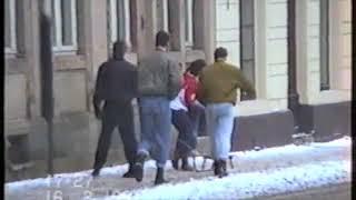 preview picture of video 'Dresden-Neustadt 1991 - Teil 1 (Görlitzer Straße)'
