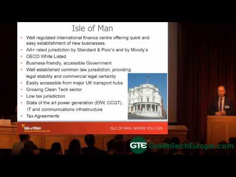 Offshore Renewables and Ecoisland Opportunities on the Isle of Man -Part 1