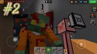 JUMPSCARES?! | Pixel Gun 3D Campaign #2