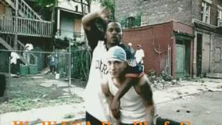 Eminem F. Sticky Fingaz -  What If I Was White