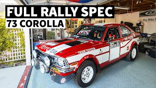 Full Rally Spec '73 TE27 Corolla! Mike Muniz's Backyard is Vintage Toyota Heaven