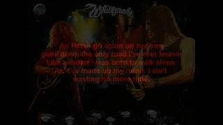 whitesnake~here i go again