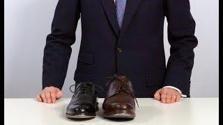 Business-Schuhe schnüren und binden - aber richtig!