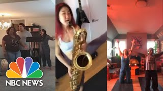 How Live Performers Are Re-Inventing Entertainment In Quarantine | NBC News