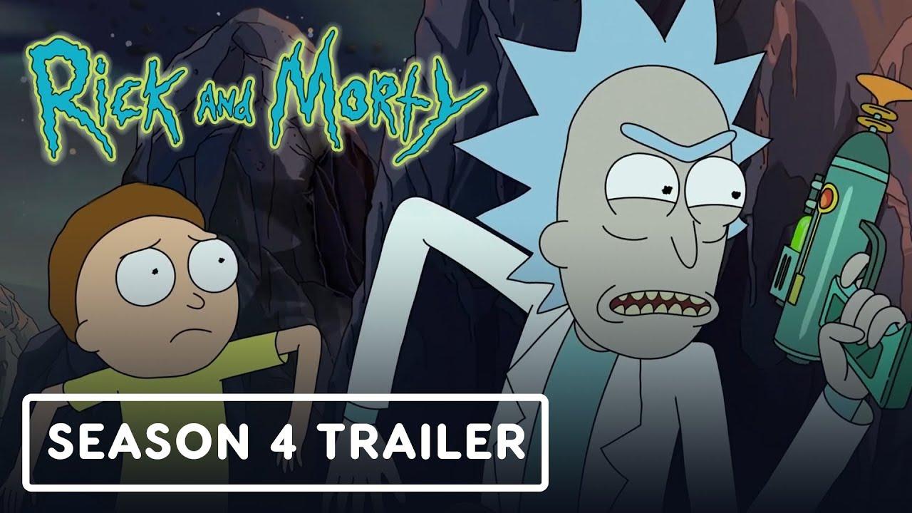 Season 4 preview: Rick and Morty - NETFLIX