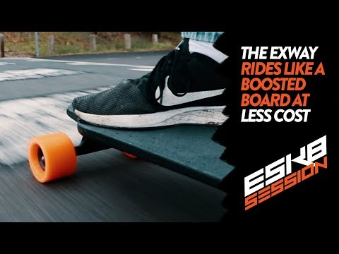 THE EXWAY RIDING EXPERIENCE | ELECTRIC SKATEBOARD REVIEW