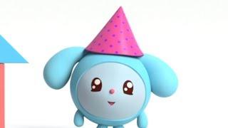 Малышарики - Обучающие мультики - Домики (14 серия) Учим фигуры