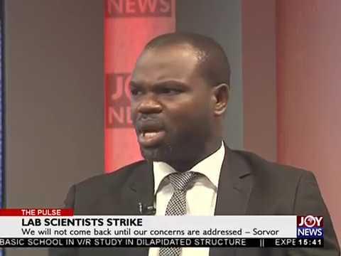 Lab Scientists Strike - The Pulse on Joy News (31-5-18)
