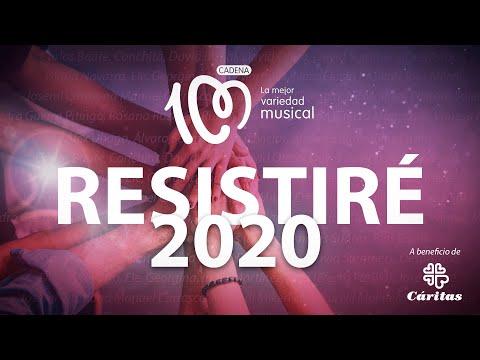 'RESISTIRÉ 2020', himno frente al coronavirus, a beneficio de Cáritas