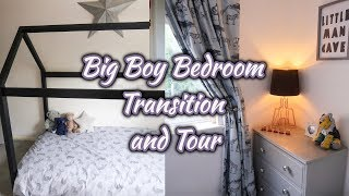 Transition From Nursery To Big Boy Bedroom | Boys Bedroom Tour | Ellie Polly