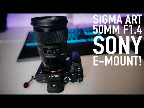Sigma 50mm f1.4 ART lens FOR SONY E-MOUNT – Real world review!