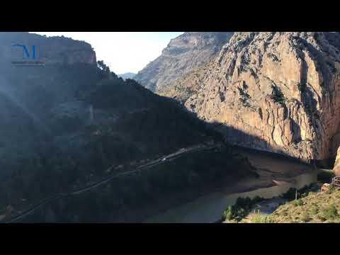 Mirador natural de la Cruz de Hierro, El Chorro (Álora)