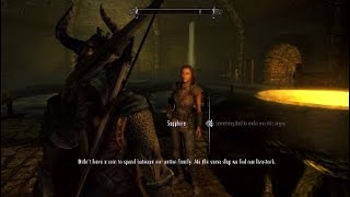 The Elder Scrolls V : Skyrim - Return to Balimund | Collect bounty from Raerek