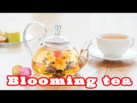 Связанный чай цветок - само очарование! A blooming tea is very charming!
