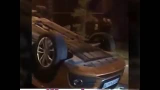 Авария: автомобиль перевернулся в Костанае