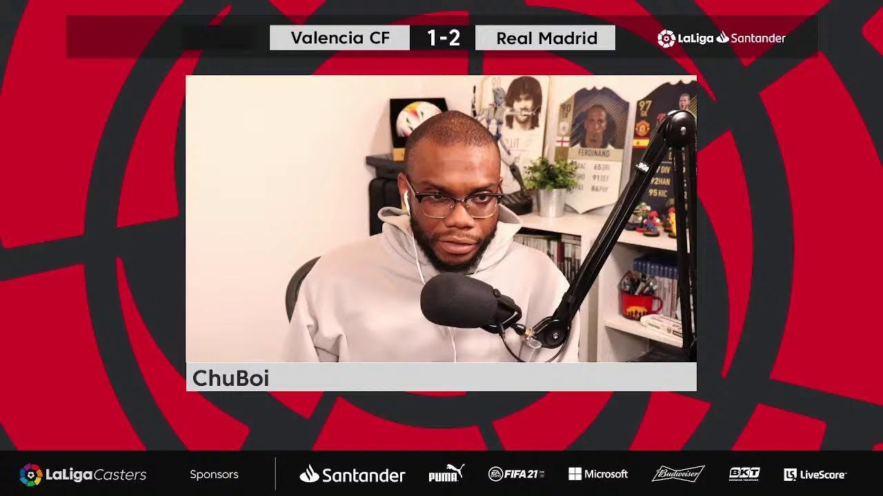 LaLiga Casters - Valencia CF v Real Madrid with Chuboi ⚽👏