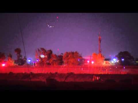 Extrañas luces en el cielo de San Diego (EE.UU) ¿Ovnis?
