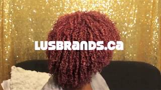 Defining Type 4 Curls With Lus Brands All In One Leave In