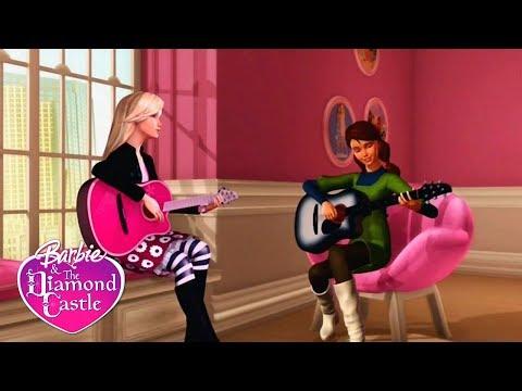 Барби и хрустальный замок.Песня о дружбе! Мультик Барби