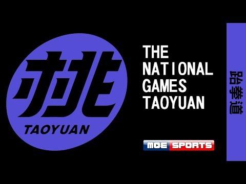 跆拳道::女子53kg/男子63kg決賽::108年全國運動會在桃園 網路直播