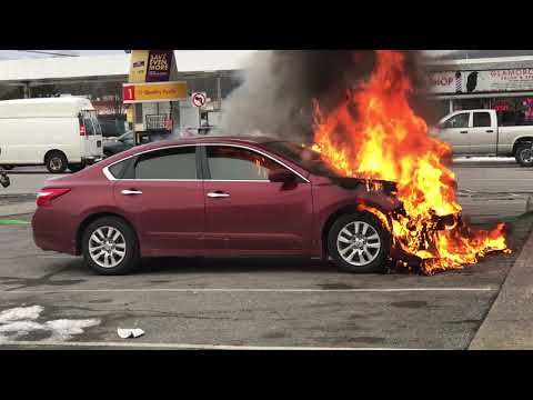 December 18, 2017 Vails Gate FD Working Car Fire  New Windsor, NY