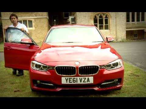 Sachin Tendulkar - First to drive new BMW 3 Series