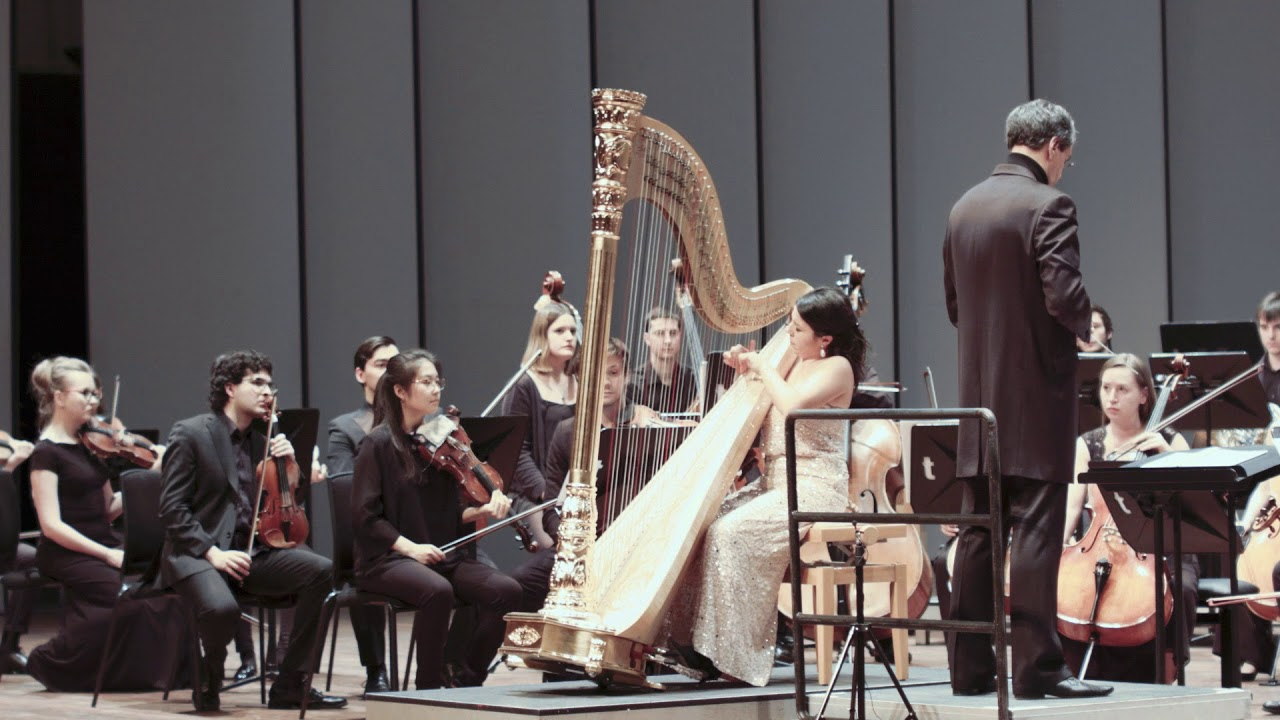 Anneleen Lenaerts – Ginastera's Harp Concerto (Mov. I)