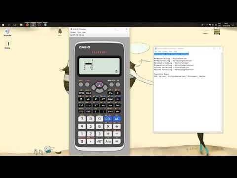 Taschenrechner fx-991DE X Funktionen für Statistik Klausur