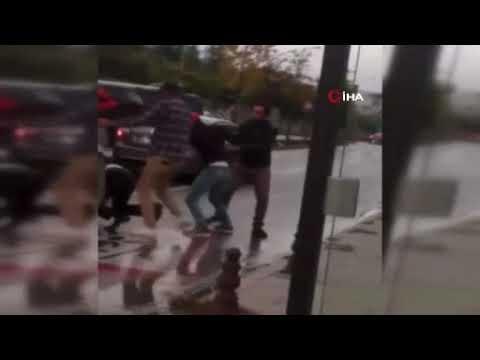 Sancaktepe'de trafikte kavga: Kaza sonrası acımasızca darp ettiler