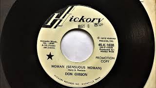 Woman Sensuous Woman , Don Gibson , 1972