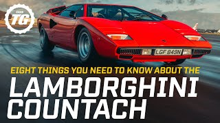 Eight things you need to know about the Lamborghini Countach | Top Gear