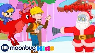 Robot Santa - Christmas MORPHLE Special Kids Songs & Videos - MOONBUG Superheroes