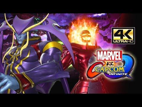 JEDMAMMU IS A PROBLEM – 4K HD: Marvel Vs. Capcom Infinite Developer Matches