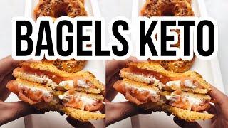 🥯 THE BEST KETO LOW CARB BAGELS | BAGELS KETO EN 15 MINUTOS | PAN KETO | Manu Echeverri