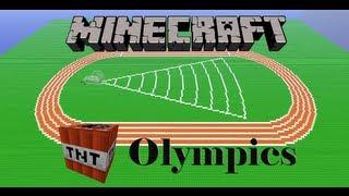 Minecraft TNT Olympics Episode 1: Javelin Throw