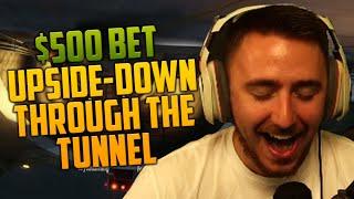 $500 'UPSIDE DOWN THROUGH TUNNEL' BET (GTA V Online PC)