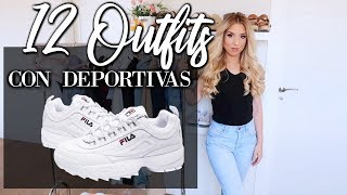 OUTFITS CASUALES CON DEPORTIVAS #CHIC #SPORTCHIC