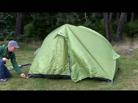 EXPED Gemini Series Tents - Setup