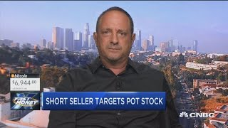 Pot stocks take a hit as infamous short seller targets the space