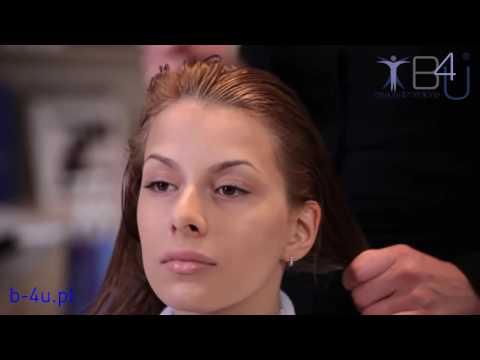Olej włosy usuwa puszystość