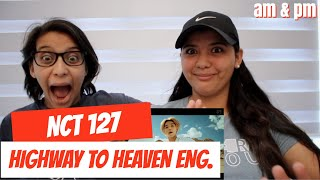 NCT 127 엔시티 127 'Highway To Heaven (English Ver.)' MV REACTION!!!